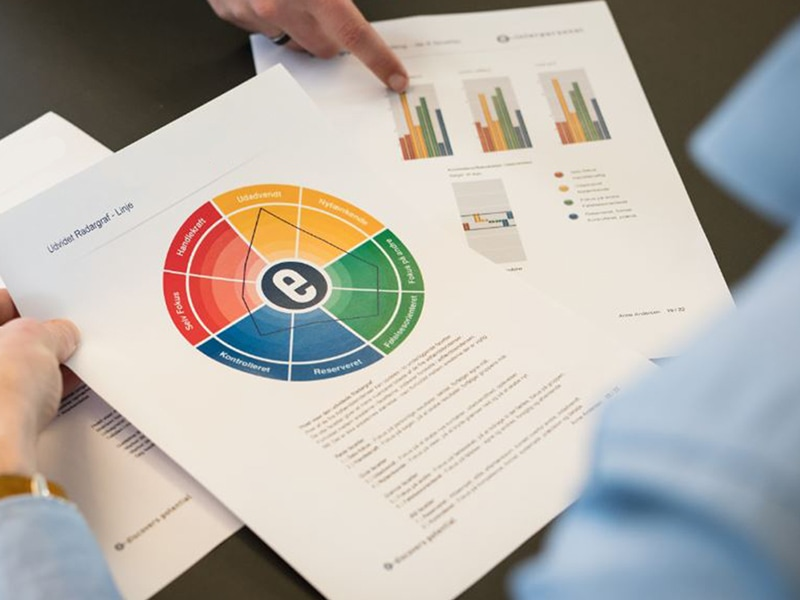 Gennemgang af DISC profilrapport til lederudviklingsforløb